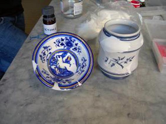 Corso di restauro della ceramica