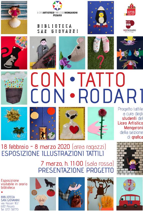 Locandina dell'evento Con-Tatto con-Rodari